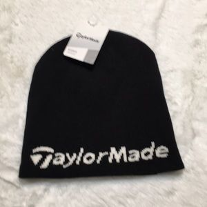 TaylorMade beanie hat new with tags